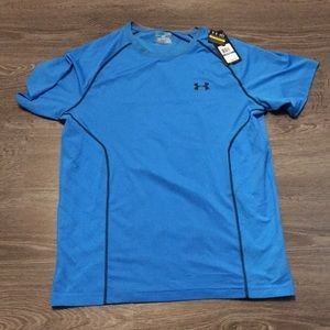 NWT men's under armour T-shirt vented heat gear